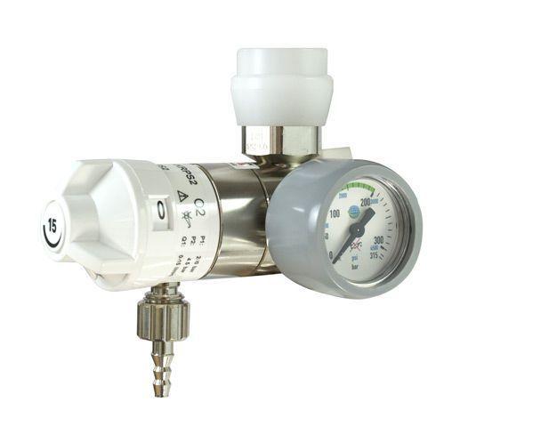 Oxygen pressure regulator 0 - 15 L/mn | AEROway® Fast 15-KLPS/ KRPS HUM