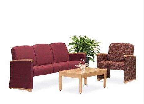 Waiting room chair / beam / 3 seater Art of Care® Lounge Hill-Rom