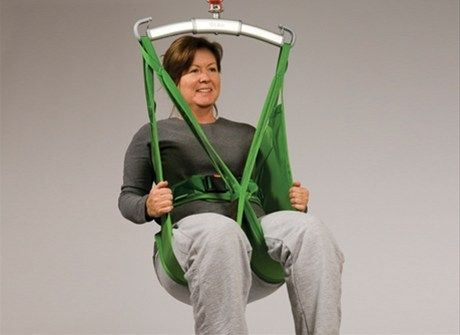 Patient lift sling / toilet HygieneSling™ Hill-Rom