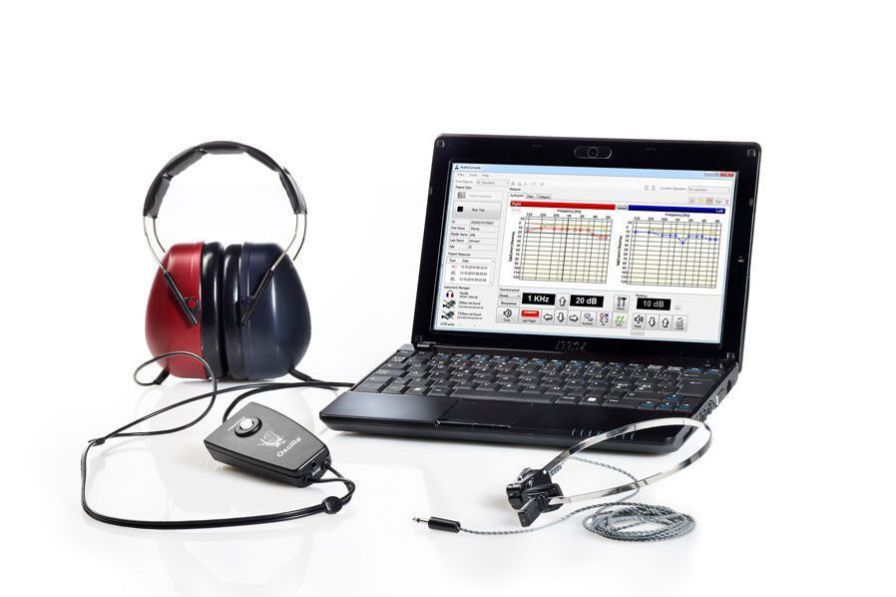 Diagnostic audiometer (audiometry) / audiometer / computer-based OSCILLA® USB-350BS IMEDICO