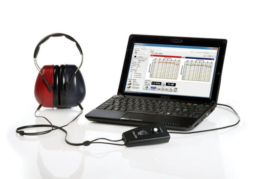 Screening audiometer (audiometry) / audiometer / computer-based OSCILLA® USB-310 IMEDICO