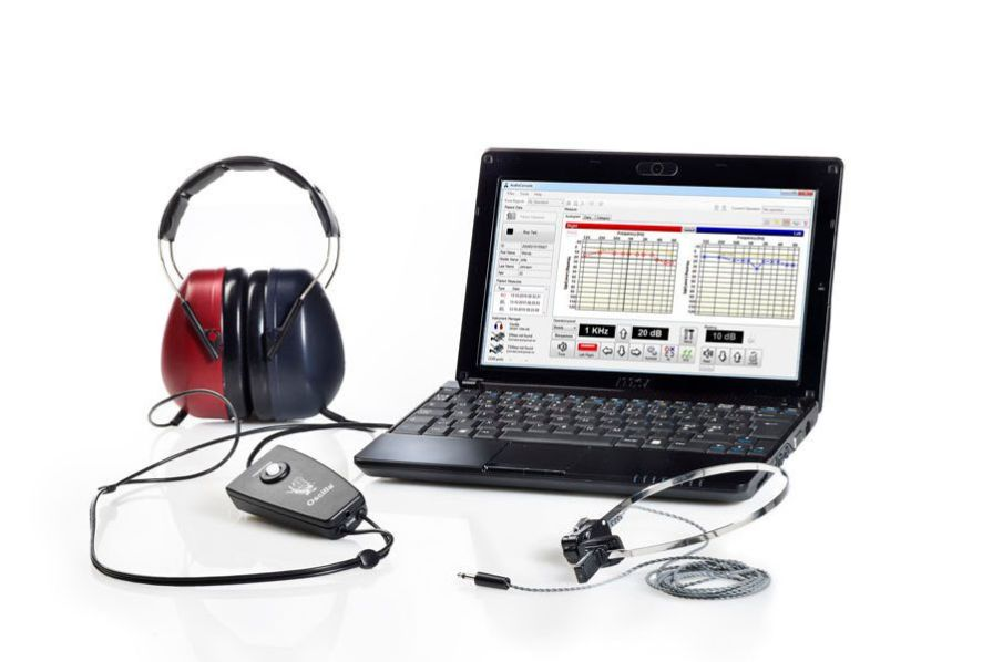 Audiometer (audiometry) / diagnostic audiometer / computer-based OSCILLA® USB-350B IMEDICO