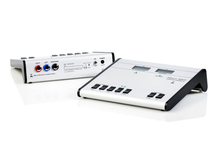 Screening audiometer (audiometry) / audiometer / digital OSCILLA® SM910-B IMEDICO