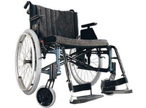 Passive wheelchair / folding / bariatric max. 155 kg   Etac Cross XL etac