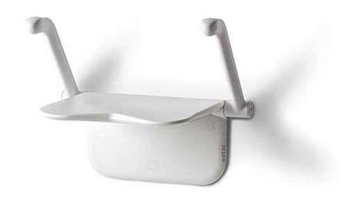 Shower seat / folding / wall-mounted / 1-person max. 150 kg   Etac Relax etac