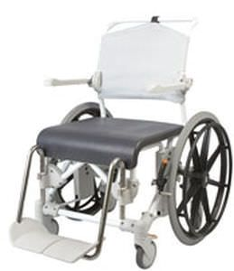 Shower chair / with cutout seat / on casters max. 135 kg   Etac Swift Mobile 24 etac