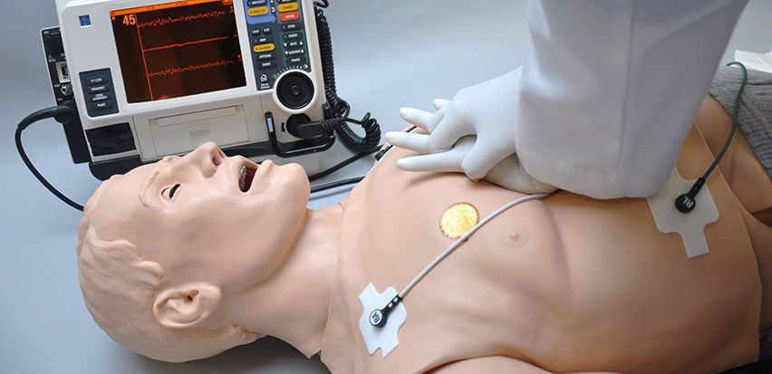 Emergency care patient simulator / adult / whole body Code Blue® III Gaumard