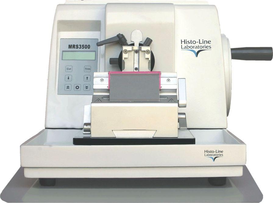Rotary microtome / semi-automatic MRS 3500 Histo Line Laboratories