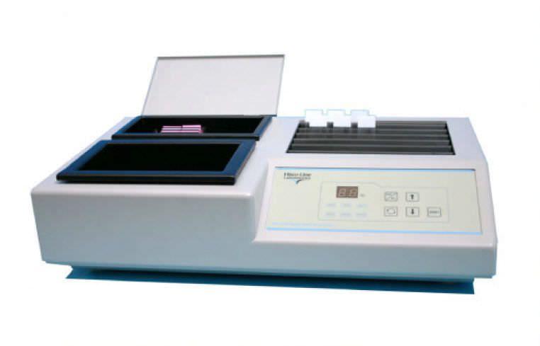 Warming laboratory water bath / with slide dryers TEC 2500 Histo Line Laboratories