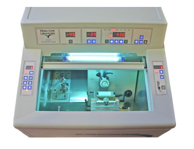 Rotary microtome cryostat / automatic / semi-automatic MC 5000 Histo Line Laboratories