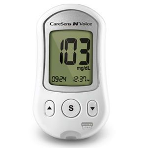 Blood glucose meter with speaking mode 20 - 600 mg/dL | CareSens N Voice i-Sens