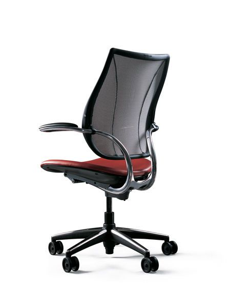 Office chair / with armrests / on casters Liberty Humanscale Healthcare
