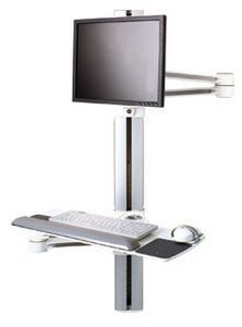 Medical computer workstation / wall-mounted V7 Humanscale Healthcare