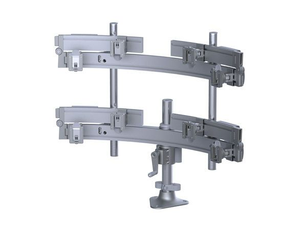 Medical monitor support arm / desk Para/Flex Humanscale Healthcare