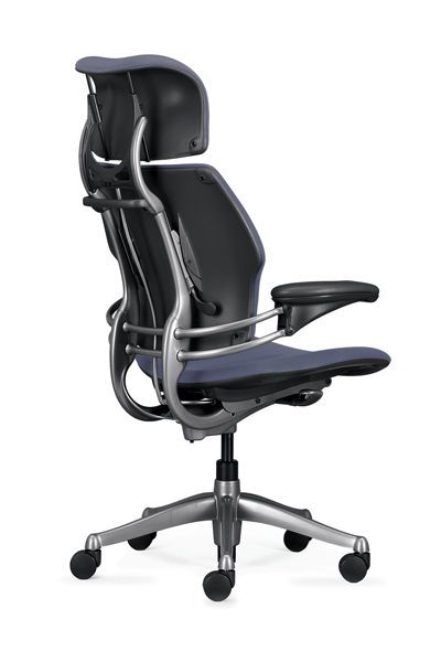 Office chair / with armrests / on casters Freedom Headrest Humanscale Healthcare