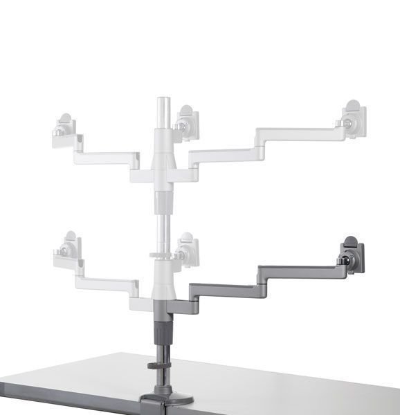 Medical monitor support arm / desk M/Flex Humanscale Healthcare