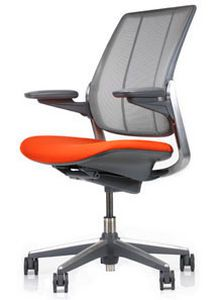 Office chair / on casters / with armrests Diffrient Smart Humanscale Healthcare