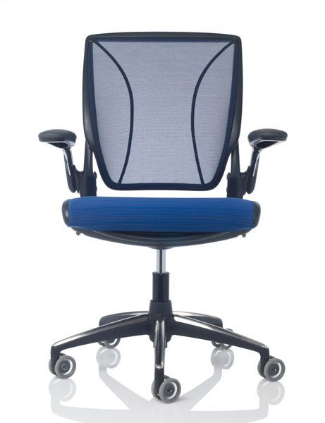 Office chair / on casters / with armrests Diffrient World Humanscale Healthcare