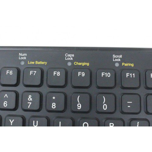 Flexible medical keyboard / wireless / with touchpad SBW-97-TP-BLACK IKEY