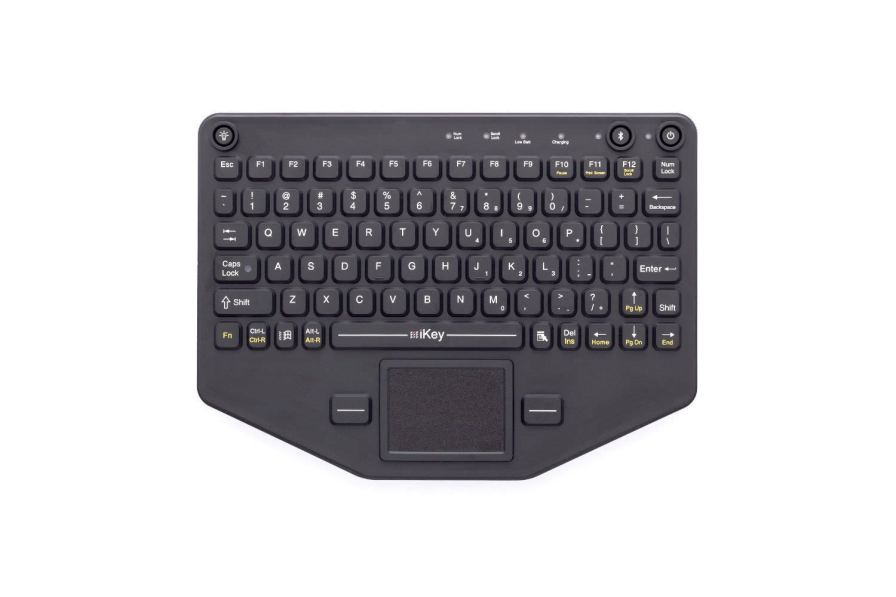 Wireless medical keyboard / silicone rubber BT-80-TP IKEY