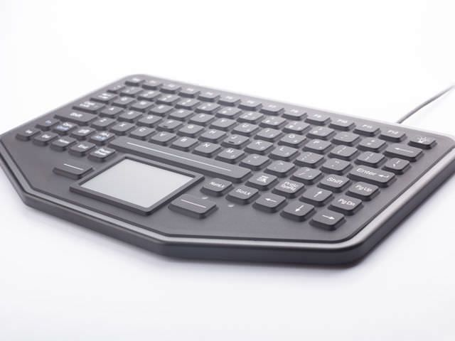USB medical keyboard / backlit / silicone rubber / with touchpad SB-87-TP IKEY
