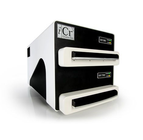 Mammographic CR screen phosphor screen scanner Chrome Duo iCRco