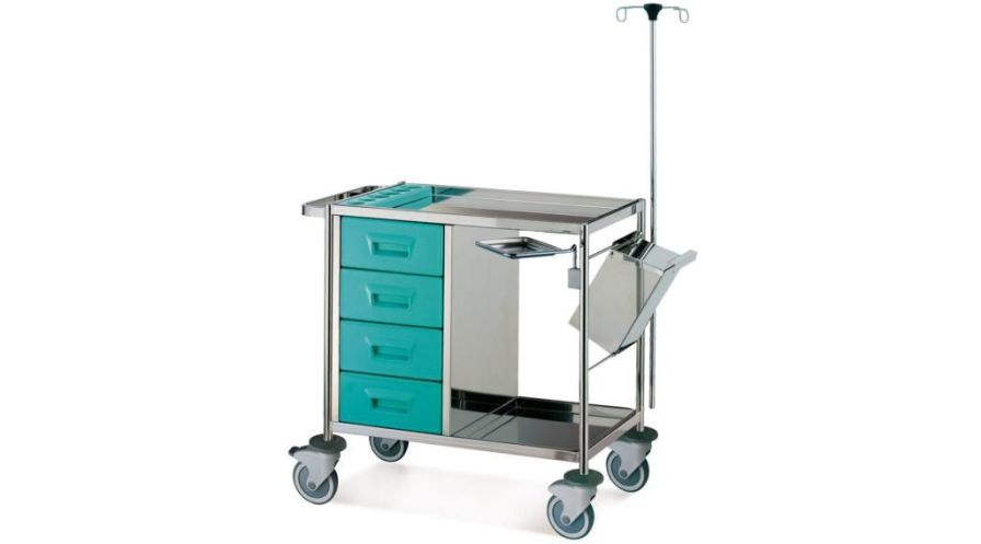 Multi-function trolley / with drawer / 1-tray CA9070 Givas