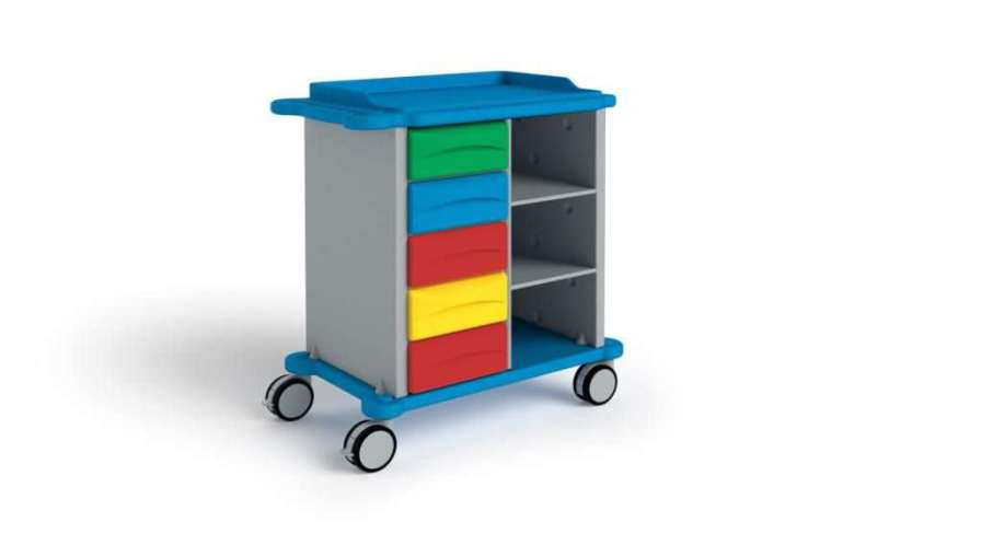 Multi-function trolley / with drawer CP0014 Givas
