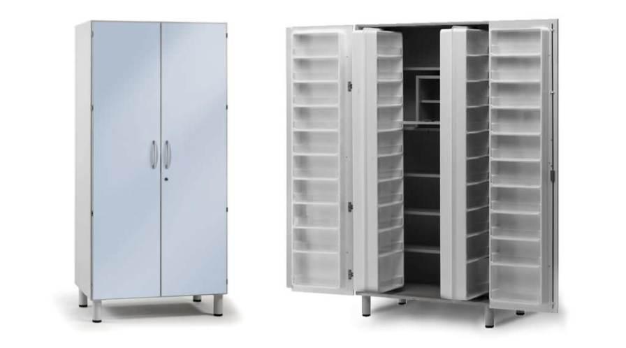Medical cabinet / medicine / 2-door AA2230 Givas