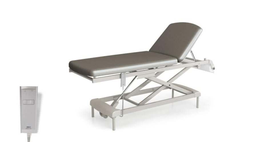 Electro-hydraulic examination table / height-adjustable / 2-section AT4046E Givas