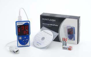 Handheld pulse oximeter / with separate sensor Smartsigns MP1 Huntleigh Diagnostics