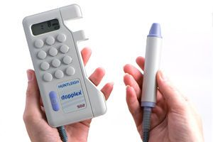 Vascular doppler / bidirectional / pocket Dopplex SD2 Huntleigh Diagnostics
