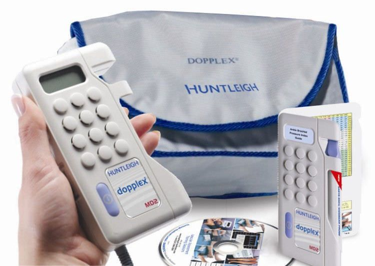 Examination doppler kit with ABI calculation Dopplex ABPI Huntleigh Diagnostics