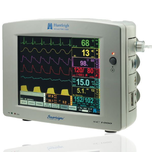 Modular multi-parameter monitor Smartsigns Compact 1000 Huntleigh Diagnostics