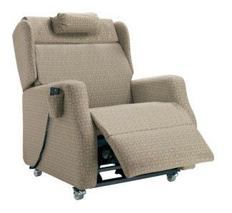 Medical sleeper chair / on casters / reclining / tilting / with legrest WESTON1, WESTON3 Healthcare Design