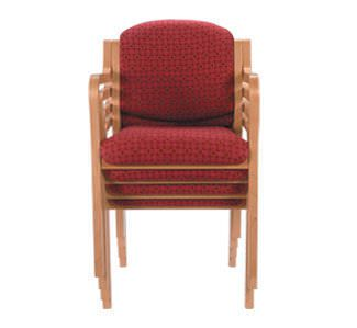 Dining room chair / with backrest / with armrests Anne C503-1 Healthcare Design