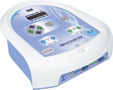 Electro-stimulator (physiotherapy) / 2-channel 2000 Hz / 4000 Hz / 8000 Hz | NEUROVECTOR Ibramed - Indústria Brasileira de Equipamentos Méd