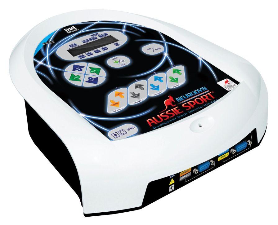Electro-stimulator (physiotherapy) / 4-channel Neurodyn Aussie Sport Ibramed - Indústria Brasileira de Equipamentos Méd