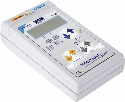 Electro-stimulator (physiotherapy) / hand-held / TENS / 2-channel NEURODYN Ibramed - Indústria Brasileira de Equipamentos Méd