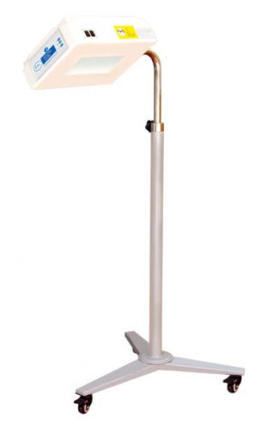 Infant phototherapy lamp / LED / on casters I REX Ibis Medical Equipment and Systems