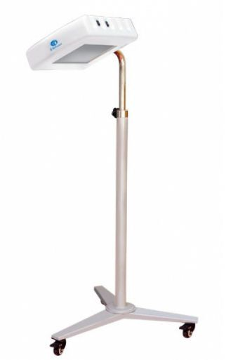 Infant phototherapy lamp / LED / on casters I Rex - 10 Ibis Medical Equipment and Systems