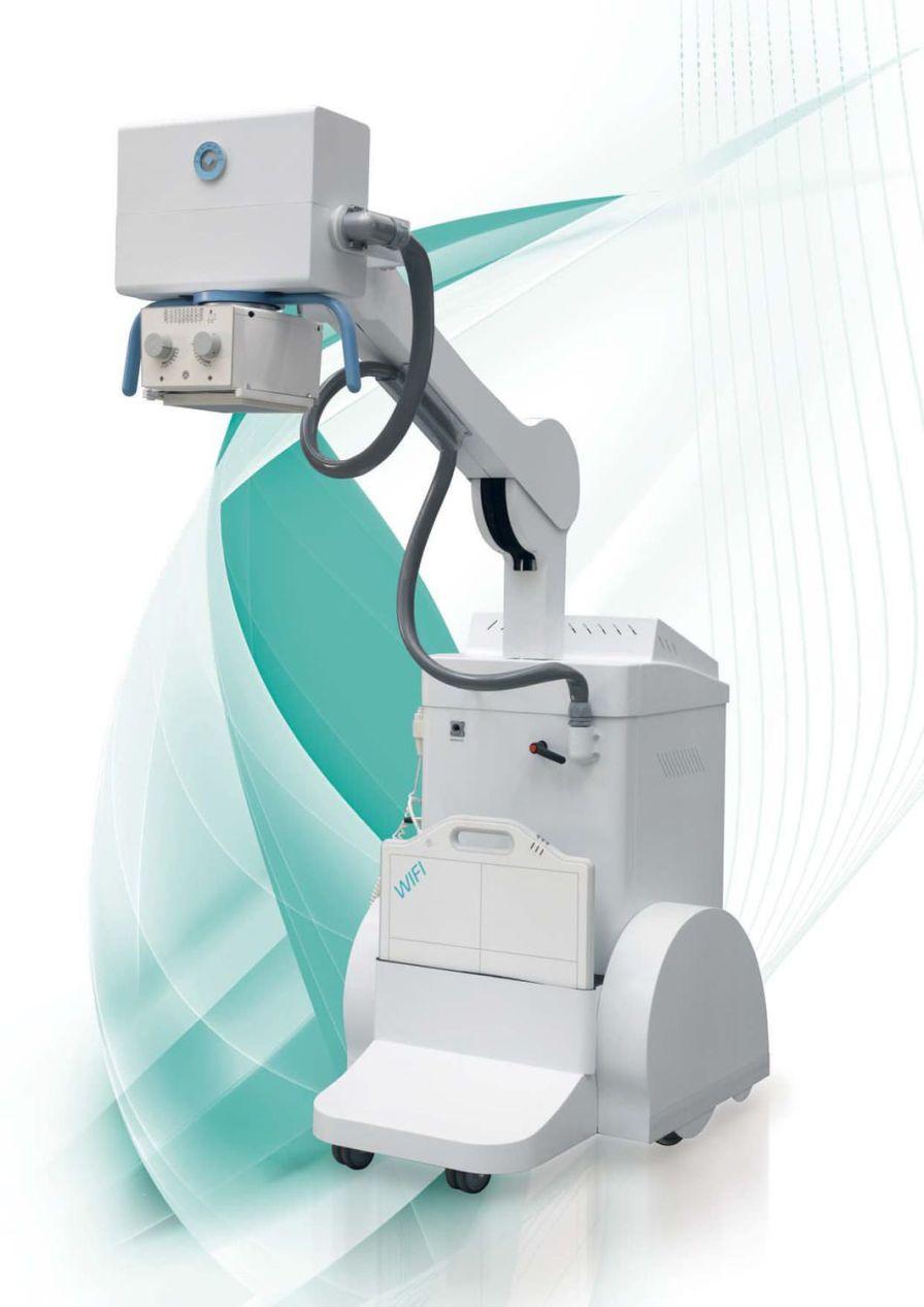 Digital mobile radiographic unit MATRIX DR IBIS