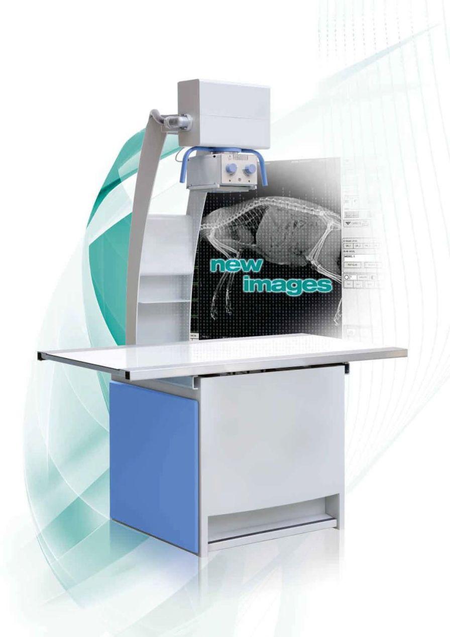 Veterinary X-ray radiology system DIGITAL CDR IBIS