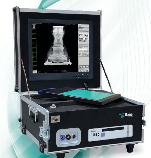 Digital medical radiography acquisition system / for veterinary radiography / portable EASY VET IBIS