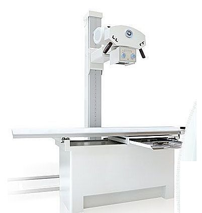 Electrical radiography table / with tube-stand CDR BUCKYTABLE IBIS