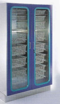 Storage cabinet / medical / for healthcare facilities / with basket AS 400 Hysis Medical