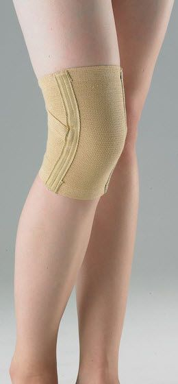 Knee sleeve (orthopedic immobilization) / with flexible stays HKNE510 Huntex Corporation