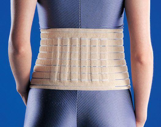 Lumbar support belt / with reinforcements MWAE920 Huntex Corporation
