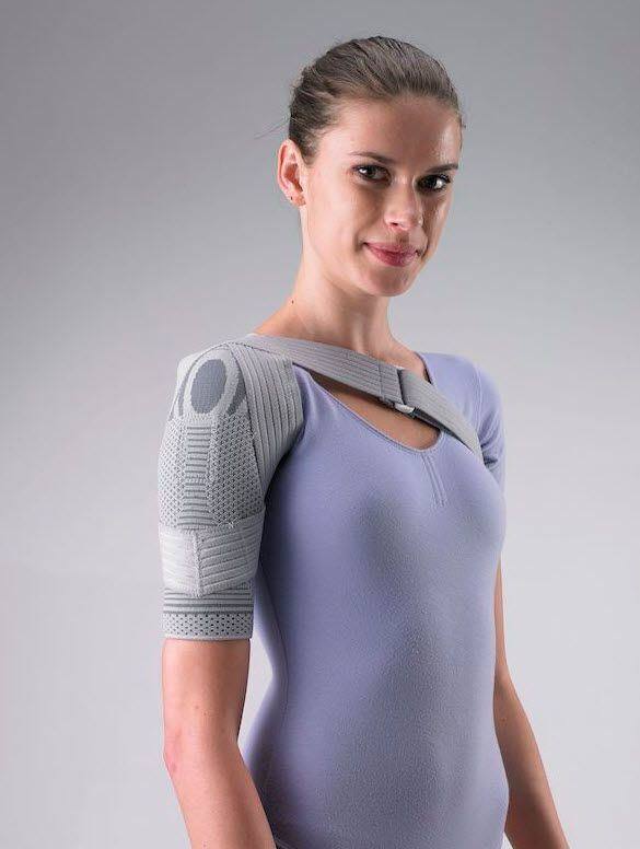 Shoulder orthosis (orthopedic immobilization) / immobilisation / flexible HSH0520 Huntex Corporation
