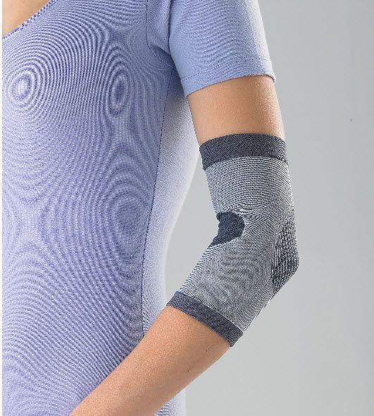 Elbow sleeve (orthopedic immobilization) / with epicondylus muscle pad HEL0100 Huntex Corporation